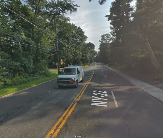 A man covered in vomit and asleep behind the wheel on Post Road in Scarsdale was arrested for alleged impaired driving.