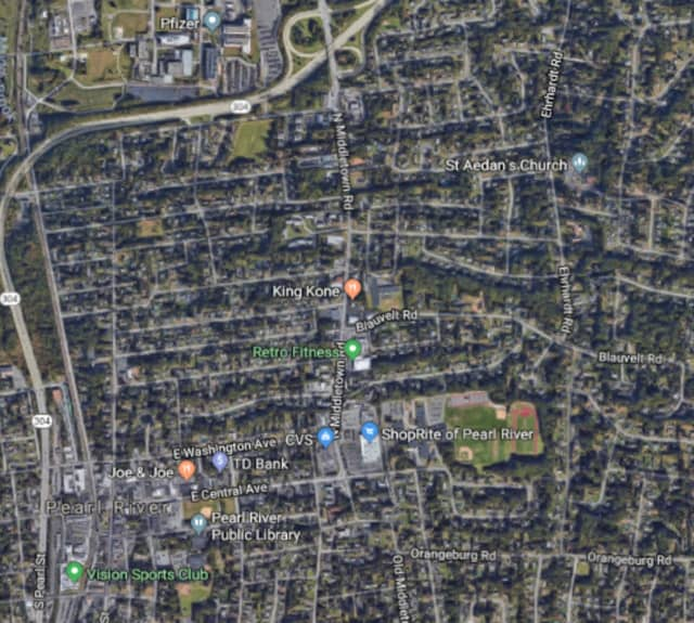 Area of the 2019 Rockland County Ancient Order of Hibernian's St. Patrick's Parade