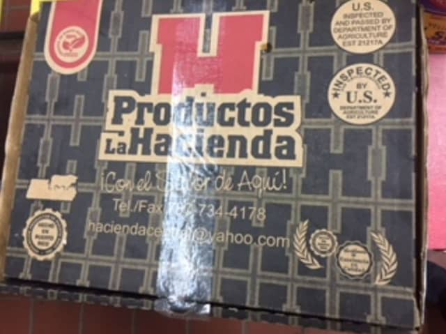 Procesadora La Hacienda has recalled thousands of pounds of beef.
