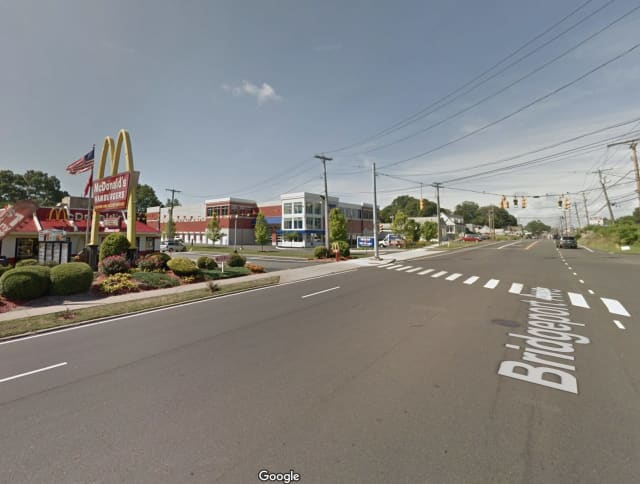 McDonald's in Milford.