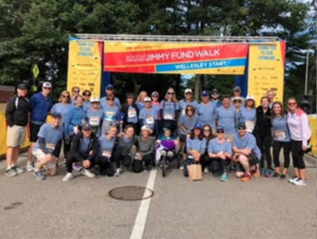 Team Amy's Admirers/Webber's Warriors at Jimmy Fund Walk