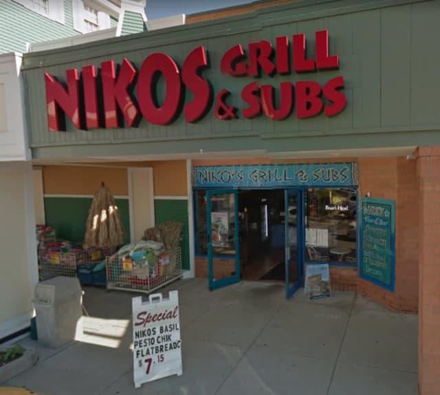 Niko's Grill & Subs, located at 15 Backus Avenue in Danbury