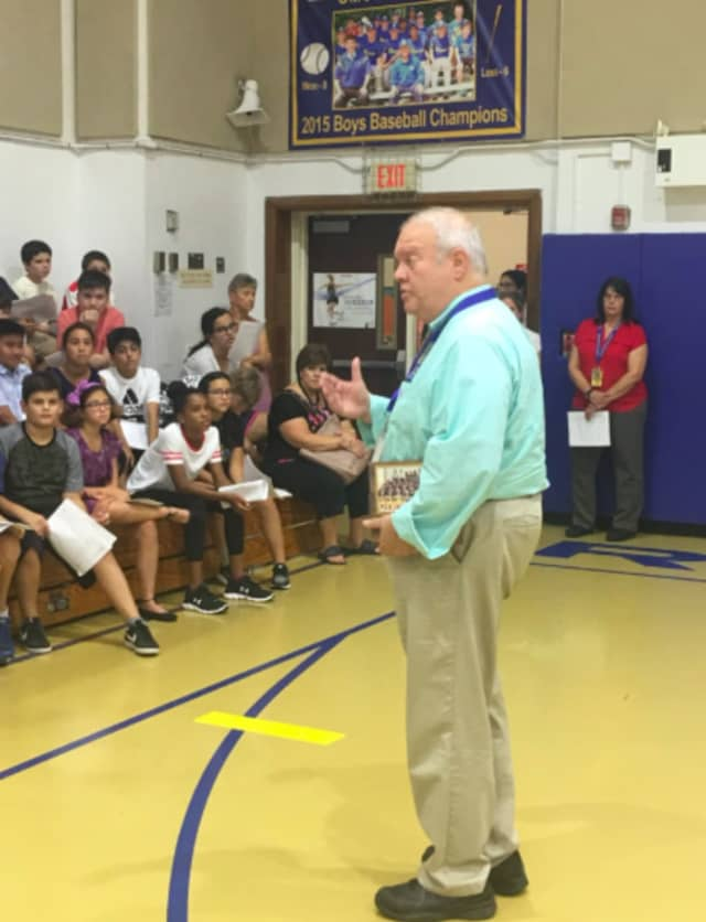 Riverdale Schools Interim Superintendent Geoffrey Gordon was placed on administrative leave Monday.