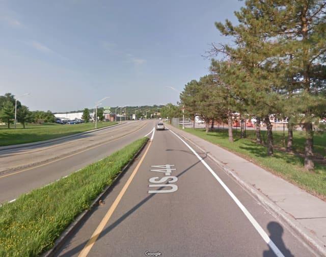 Route 44 in Poughkeepsie.