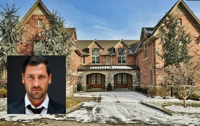 Maksim Chmerkovskiy purchased his 5,200-square-foot home for more than $1.8 million in 2013, property records show.