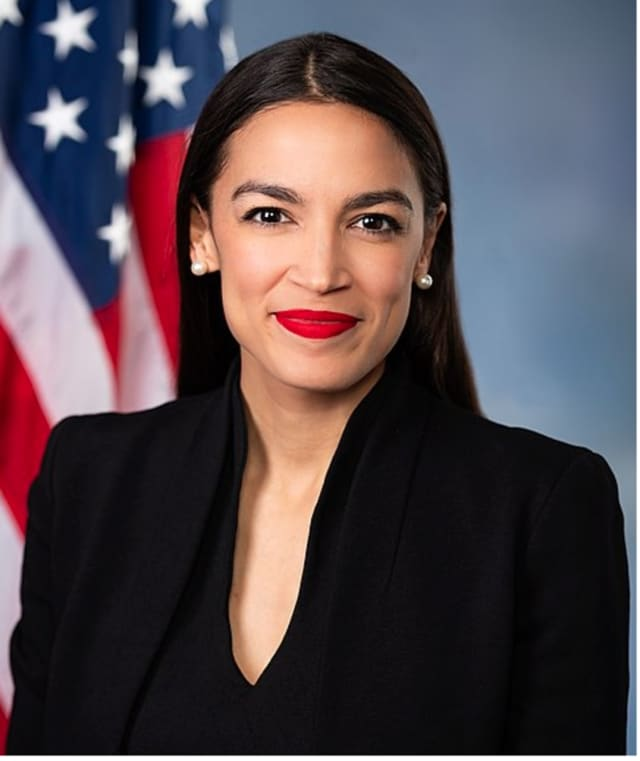 Congresswoman Alexandria Ocasio-Cortez is a 2007 graduate of Yorktown High School.