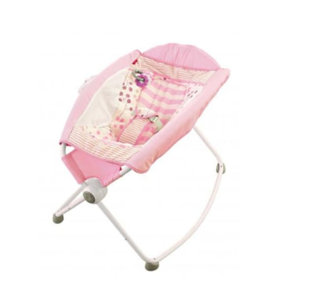 Fisher-Price's Rock 'n Play infant sleeper.