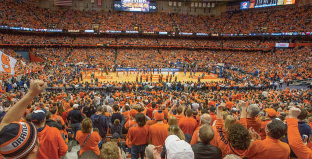 Syracuse rated highest among most valuable teams in New York, New Jersey and Connecticut at No. 6 ($162,980,000).