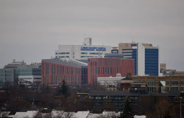 The downtown campus of the University at Buffalo.