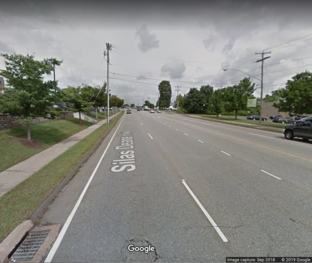 Route 99 (Silas Deane Highway) in Wethersfield.