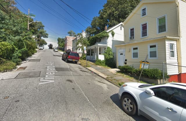 Vineyard Avenue in Yonkers, where the body was located.