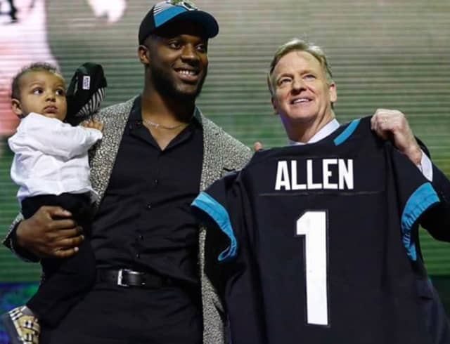 Josh Allen of Montclair was drafted to the Jacksonville Jaguars in the 2019 NFL draft.