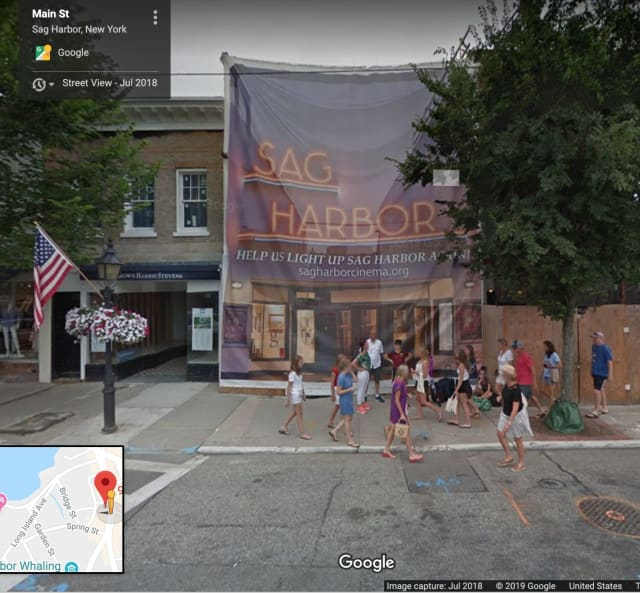 Sag Harbor Cinema that was devastated in a 2016 fire will reopen.