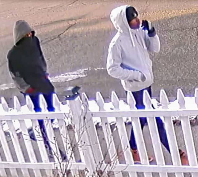Police are asking for help identifying the men pictured.