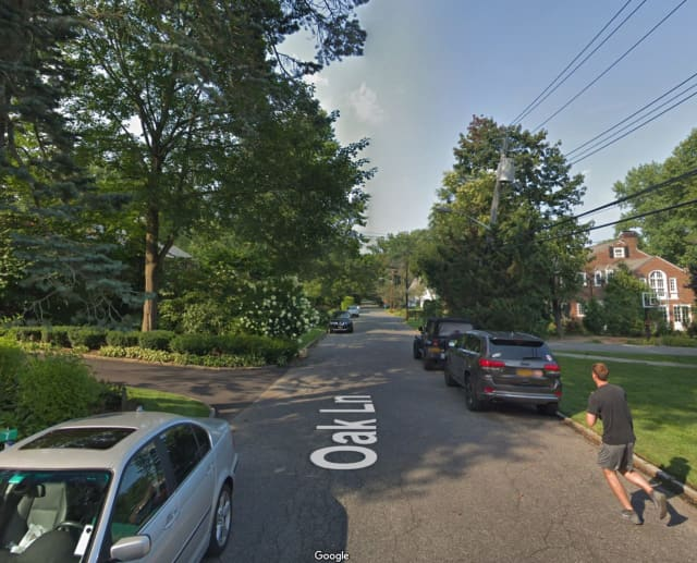 Oak Street in Scarsdale.