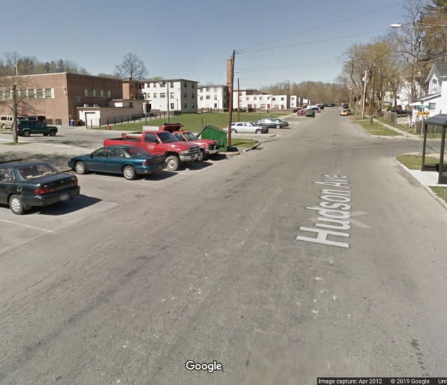 A man was shot multiple times near the Hudson Garden Apartments.