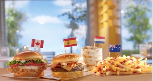 A look at the four items McDonald's will be rolling out in the US.
