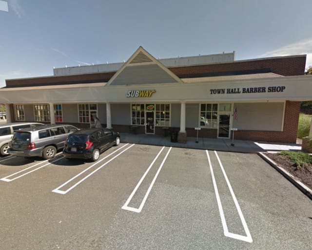 An armed man robbed a Trumbull Subway sandwich shop.