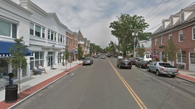 Route 1 (Boston Post Road) in the Town of Darien