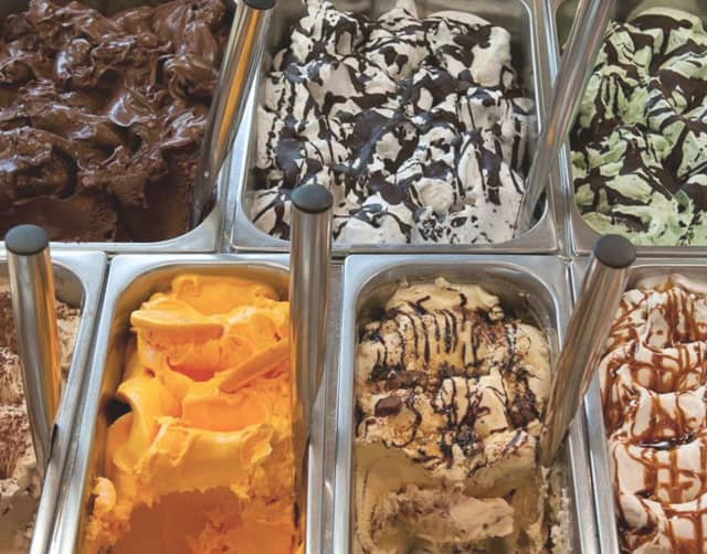 Gelatissimo Artisan Gelato dishes up 22 flavors daily in New Canaan, one of five places in Fairfield County where you'll scream for ice cream.