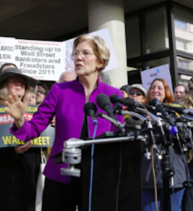 Massachusetts Sen. Elizabeth Warren will appear in the first televised presidential debate, against nine other Democrats, on Wednesday, June 26.