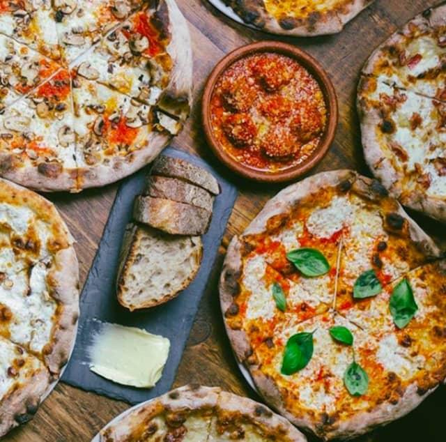 Pizza from Razza.