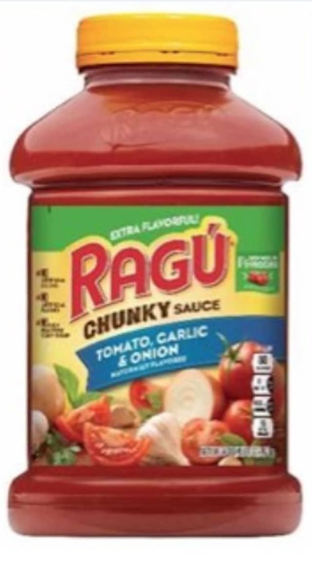 Mizkan America is recalling an undisclosed amount of cases of Ragu pasta sauce.