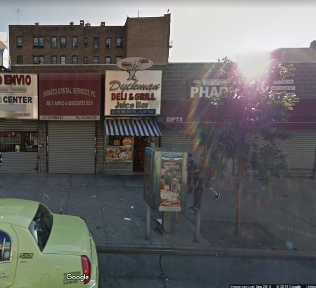 A New Rochelle man was stabbed to death outside of his family's business.