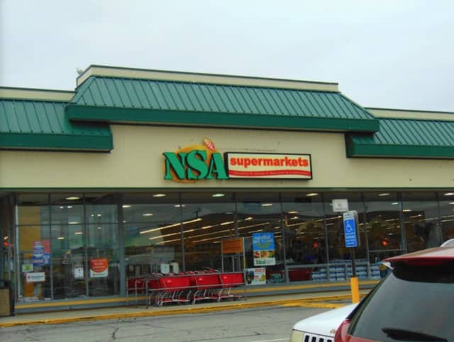 NSA Supermarket on South Frontage Road in New London.