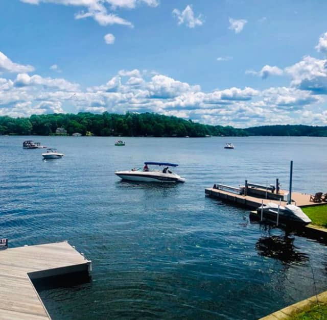 Lake Hopatcong is closed due to a harmful algae bloom.