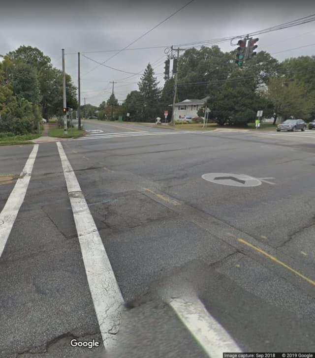 Orangeburg Road at Lester Drive.