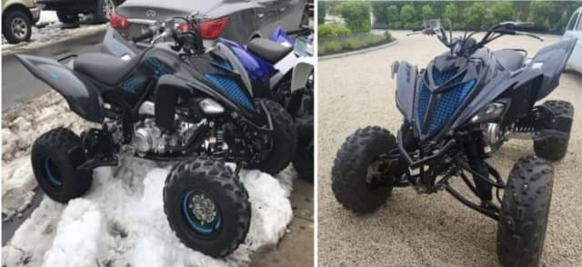 Clarkstown Police are asking for help locating a stolen ATV.