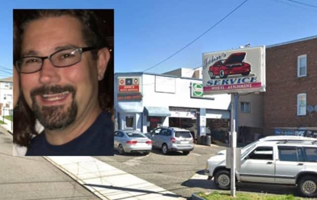 Jason Menniti of John's Auto Repair in Lodi.
