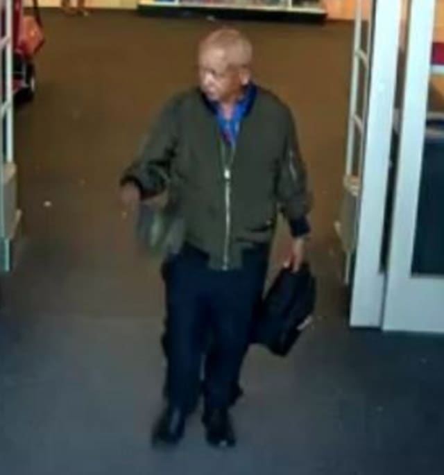 Police are on the lookout for a man suspected of stealing assorted clothing from Target (124 E. Jericho Turnpike) on Saturday, June 27 around 4:40 p.m.