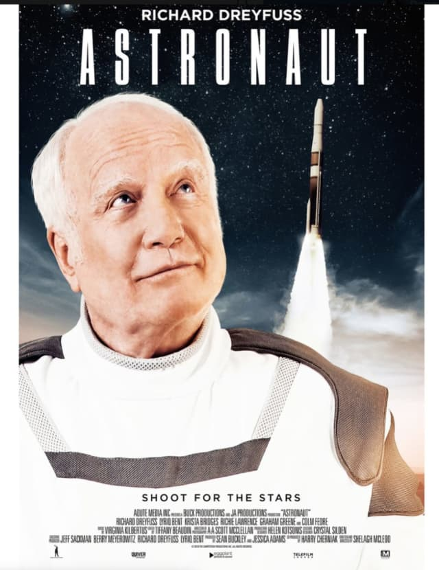 The Astronaut starring Richard Dreyfuss will be the opening night film Wednesday, July 31 at the four-day Long Beach International Film Festival.
