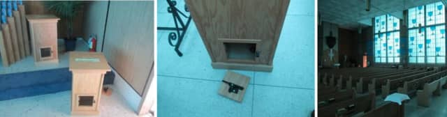 Police are on the lookout for one or more individuals who allegedly entered Our Lady of Mt. Carmel Roman Catholic Church (495 North Ocean Avenue) and broke eight donation boxes on Tuesday, July 16 around 3 p.m.