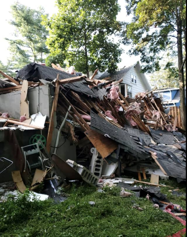 A look at the explosion at the house in Millwood.