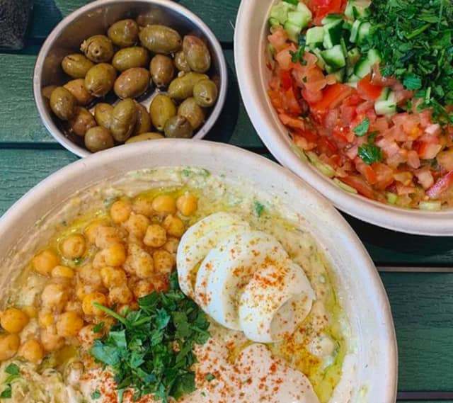 Israeli hummus bar Vish is among dozens of new restaurants opening in Bergen County.