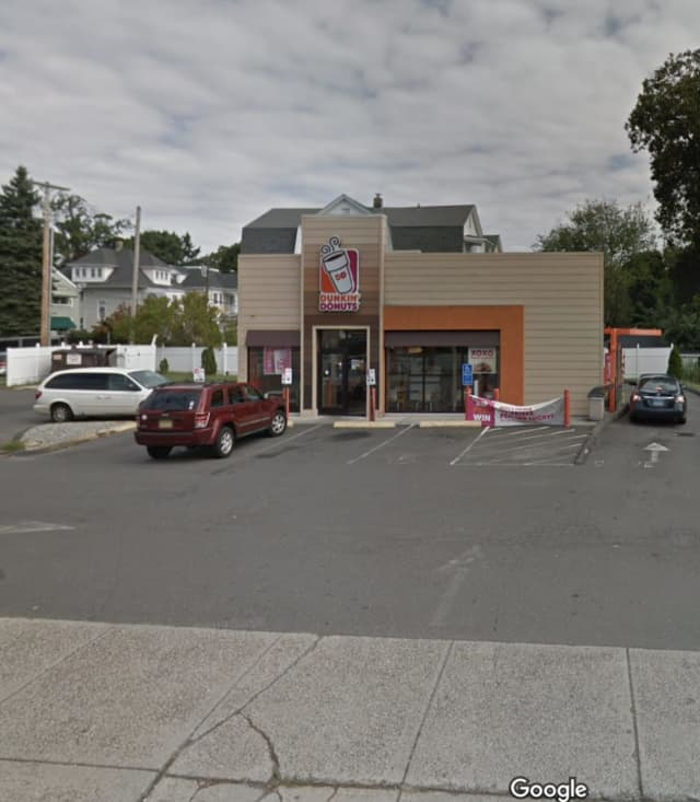A Bridgeport Dunkin' Donuts was one of two robberies reported over the weekend.
