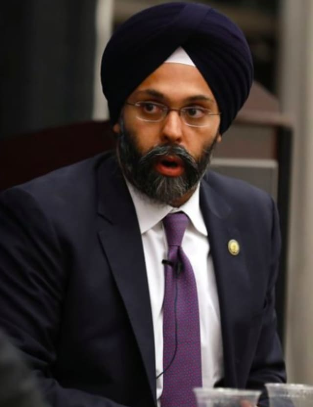 Gurbir Grewal, New Jersey Attorney General.