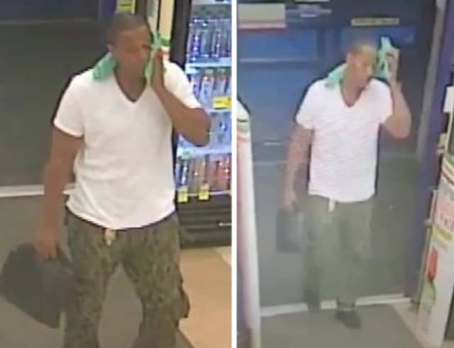Police are on the lookout for a man suspected of stealing more than $630 worth of over-the-counter medication from Rite Aid (325 Walt Whitman Road) on Saturday, July 13 around 9 p.m.