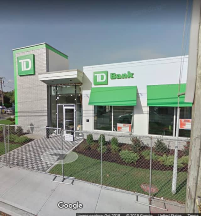 The two suspects were located in the parking lot at TD Bank at 720 Franklin Ave. in Franklin Square.