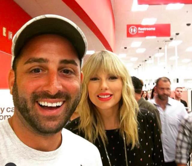 Taylor Swift showed up at the Target in Jersey City Friday, ahead of a scheduled appearance at the Video Music Awards in Newark on Monday