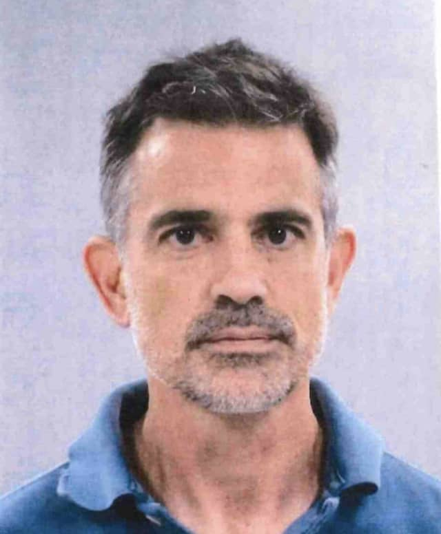Estranged husband Fotis Dulos following his second arrest.