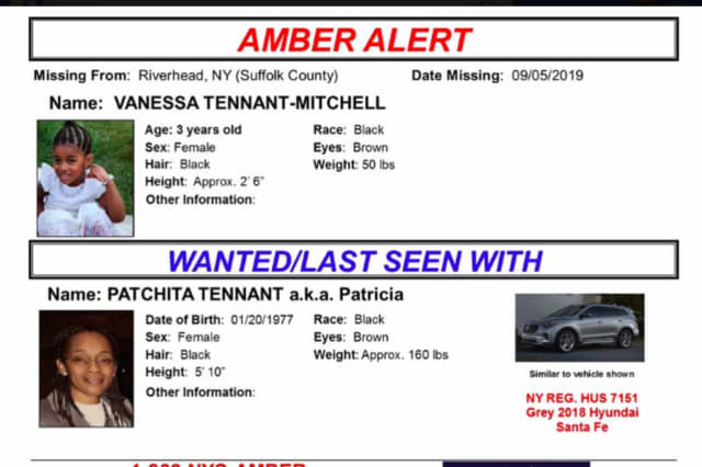 A look at photos of the 3-year-old, the suspect and the vehicle in the AMBER Alert,