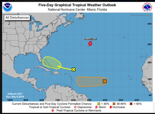 Forecasters are watching three separate storm systems in the Atlantic basin.