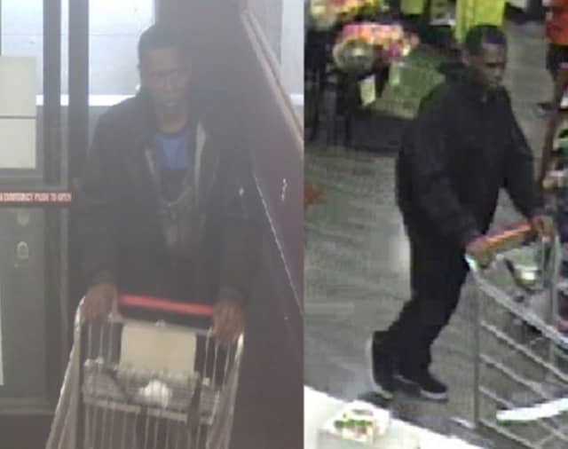 Police are on the lookout for a man suspected of stealing assorted medication valued at approximately $350 from ShopRite (335 Nesconset Highway in Hauppauge) on Tuesday, Aug. 13 around 6:30 p.m.