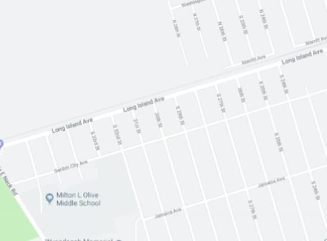 Long Island Avenue in Wyandanch