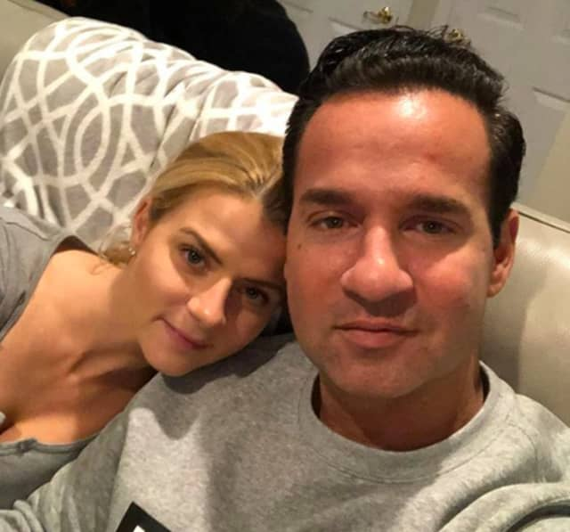 Mike Sorrentino and wife, Lauren.