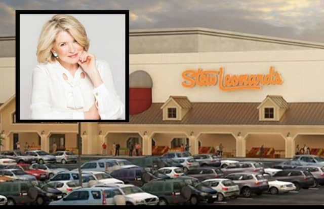 Martha Stewart will be at Stew Leonard's in Paramus Monday, Sept. 16.